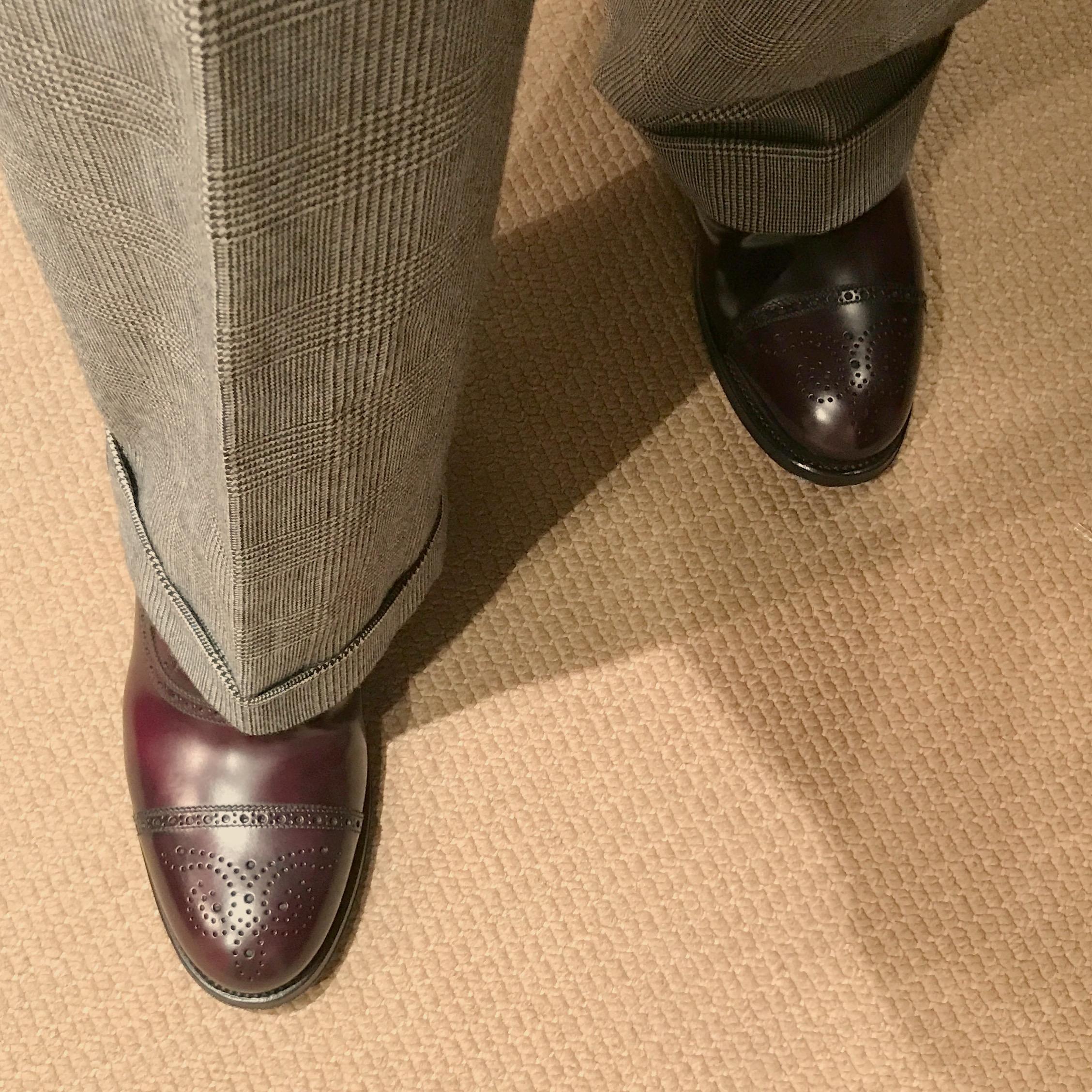 Golden Fleece Shoes: Brooks Brothers